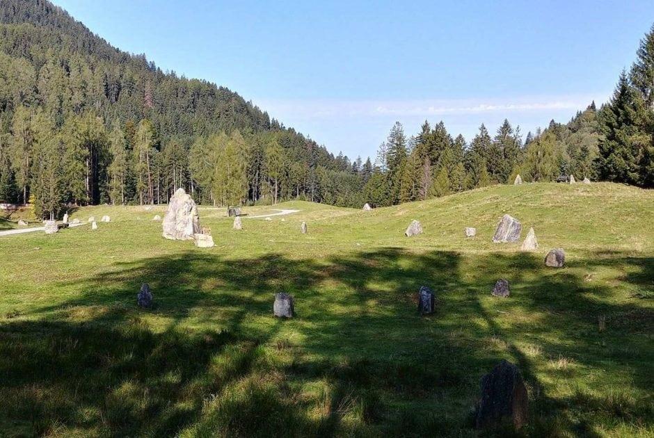 Energieplätze Vorarlberg, Steinkreise Tschengla Bürserberg (c) Alpenregion-Bludenz-Tourismus