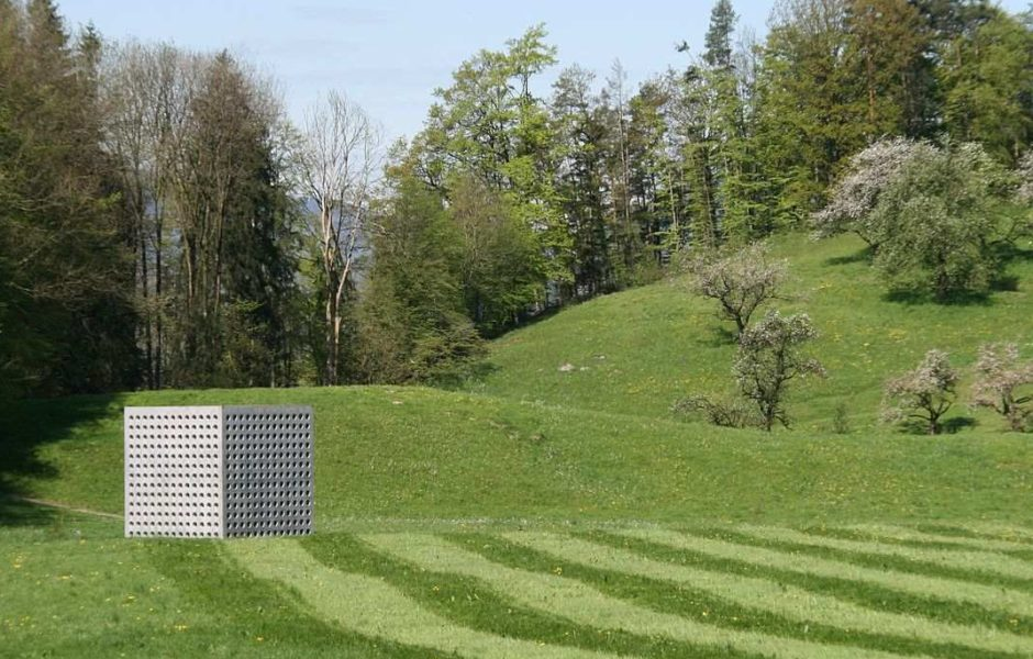 Energieplätze Vorarlberg, Das '''Wasserhaus''' St. Arbogast, Götzis, Fridolin Welte in Götzis (c) Friedrich Böhringer / wikimedia commons