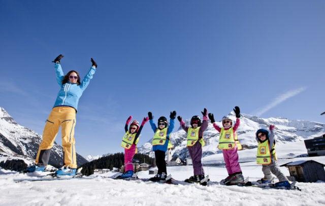 Skischule in Warth-Schröcken, Urlaubsangebote © Skischule Warth
