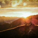 Sonnenuntergang auf der Höferspitze