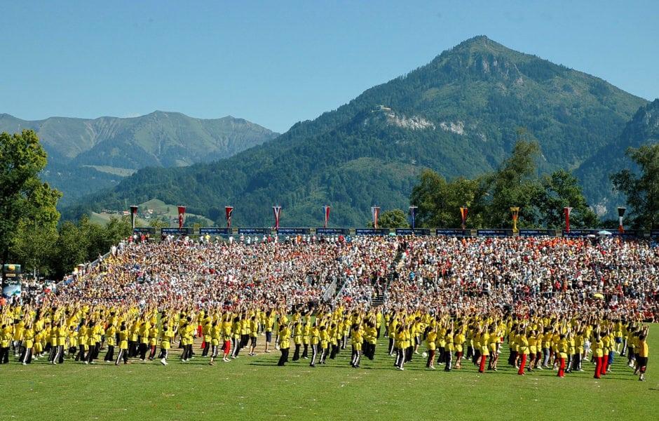 Weltgymnaestrada Dornbirn   Vorarlberg (c)Weltgymnaestrada