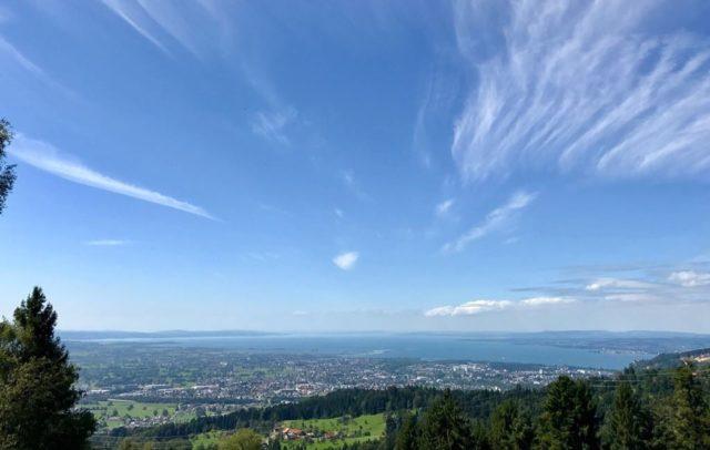 Ausblick ins Rheintal von Bildstein (c) Agnes Ammann Vorarlberg Tourismus
