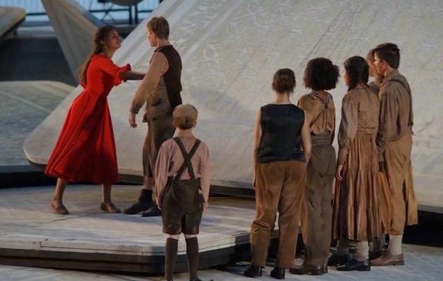Kleine Carmen, Szene, Bregenzer Festspiele, Seebühne (c) Jacqueline Schwarzhans / Vorarlberg Tourismus