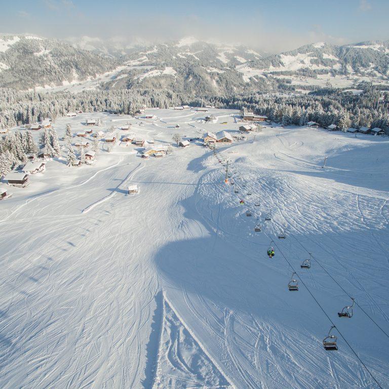 Skigebiet Schetteregg (c) Emanuel Sutterlüty-Egger Liftgesellschaft