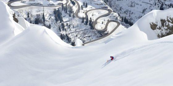 Lorraine Huber Erzberg Flexenpass-Arlberg 02 © Sepp Mallaun / Vorarlberg Tourismus