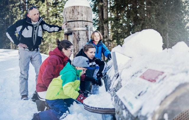 Natursprüngeweg Brandnertal winter