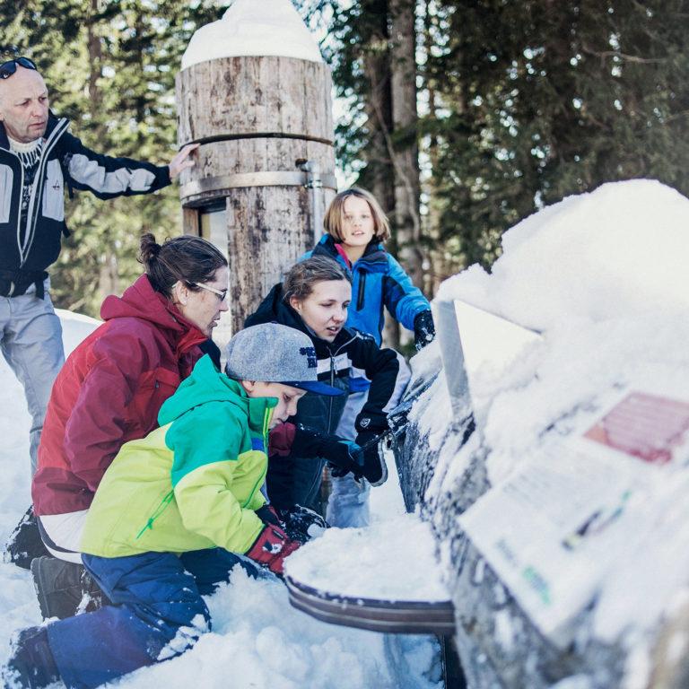 Natursprünge Weg mit der Familie erkunden © Markus Gmeiner / Bergbahnen Brandnertal