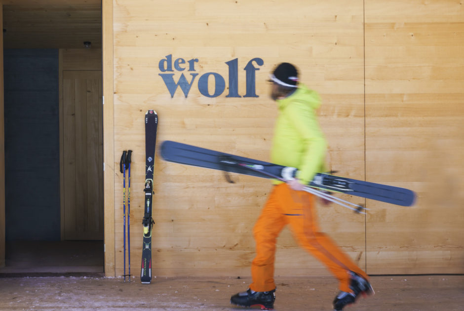 Skihuette Der Wolf © Dietmar Denger / Vorarlberg Tourismus