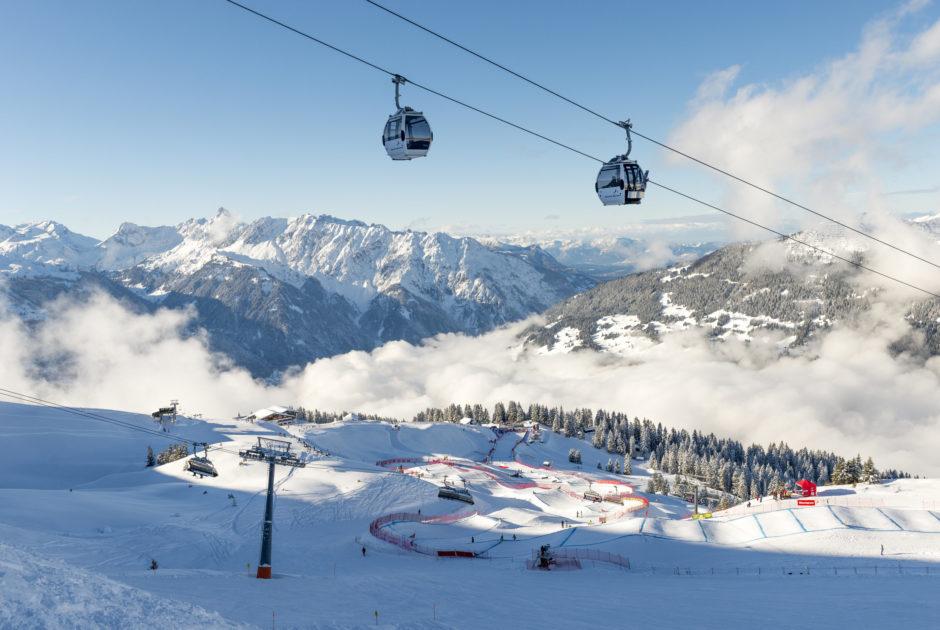 Weltcup Montafon Bergbahn Silvretta Montafon © Gregor Lengler / Vorarlberg Tourismus