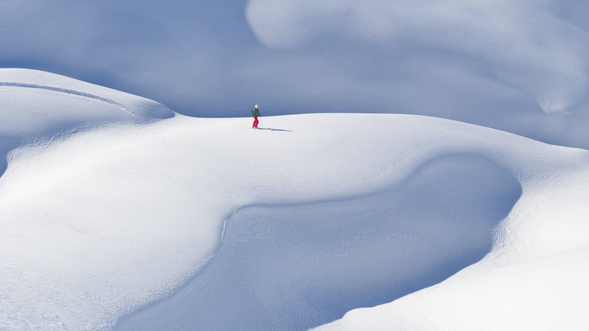Freeride Abfahrt Gehrengrat Lech-Arlberg, Winter holidays (c) Sepp Mallaun-Vorarlberg Tourismus