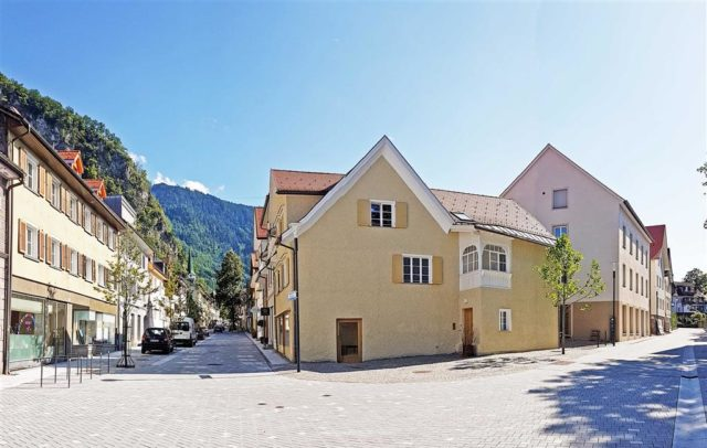 Hohenems, neue Marktstraße, Begegnungszone, Jüdisches Viertel (c) hohenems.at
