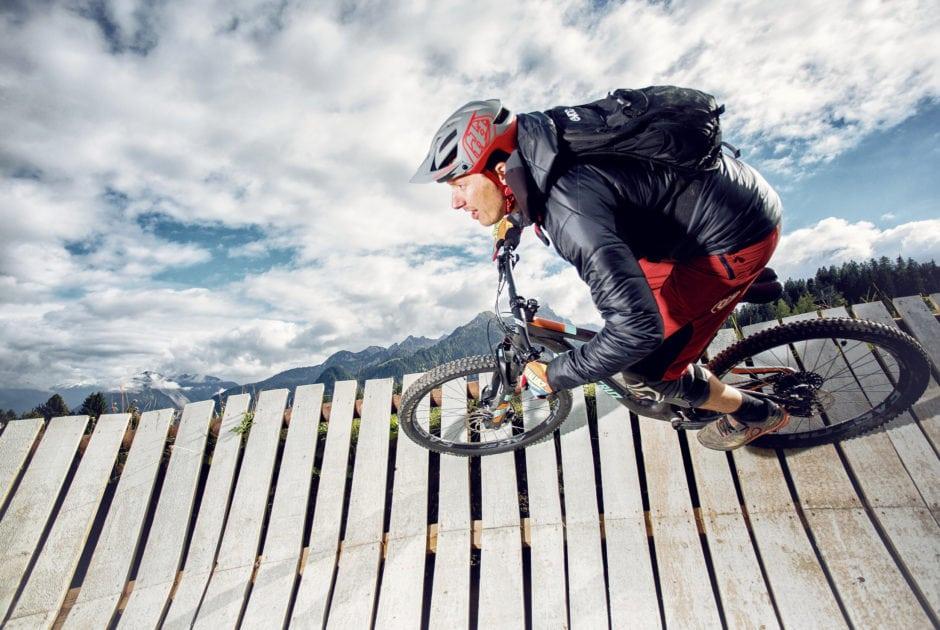 Mountainbiken am Loischkopf im Brandnertal (c) Markus Gmeiner / Vorarlberg Tourismus