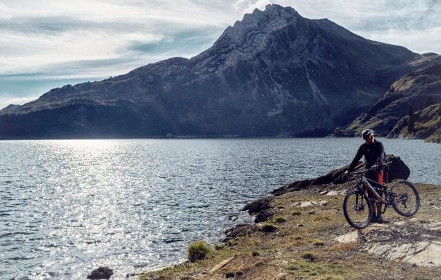 Mountainbiken am Spullersee (c) Markus Gmeiner / Vorarlberg Tourismus GmbH