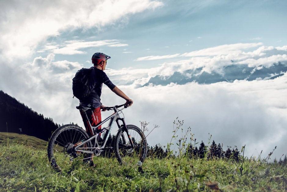 Mountainbiken zum Dünser Älpele (c) Markus Gmeiner / Vorarlberg Tourismus