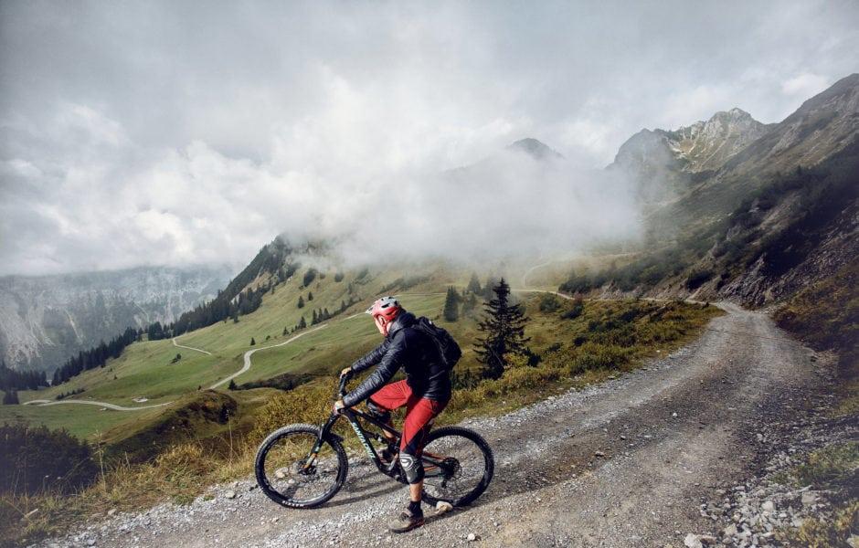 Mountainbiken im Montafon (c) Markus Gmeiner / Vorarlberg Tourismus