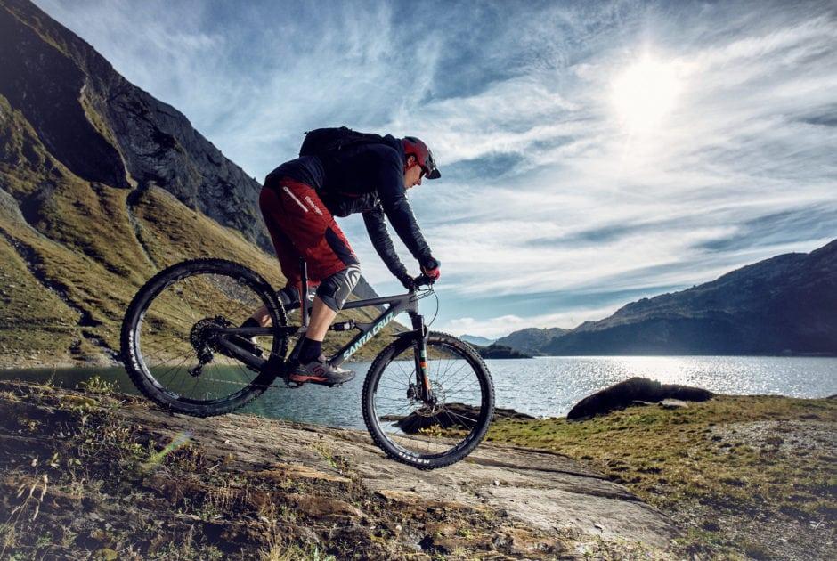 Mountainbiken zum Spullersee (c) Markus Gmeiner / Vorarlberg Tourismus