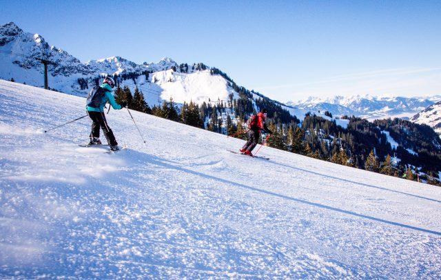 Skifahren in Sonntag-Stein (c) Gijs Hardeman - Alpenregion Bludenz Tourismus GmbH
