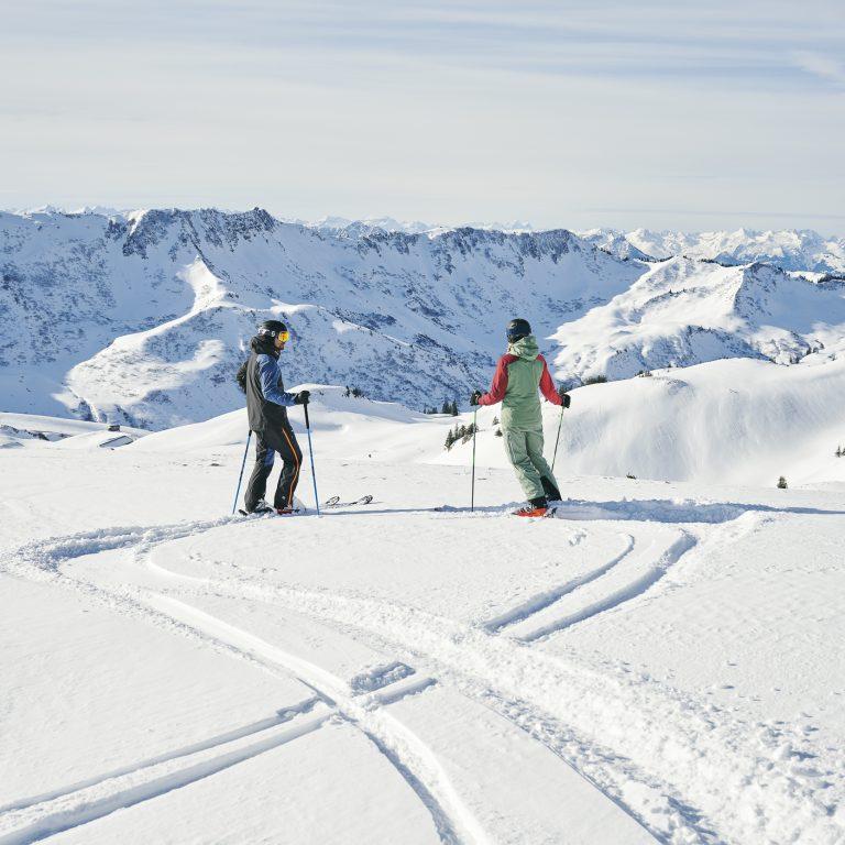 Skigebiet Damüls-Mellau (c) Alex Kaiser - Bregenzerwald Tourismus (2)
