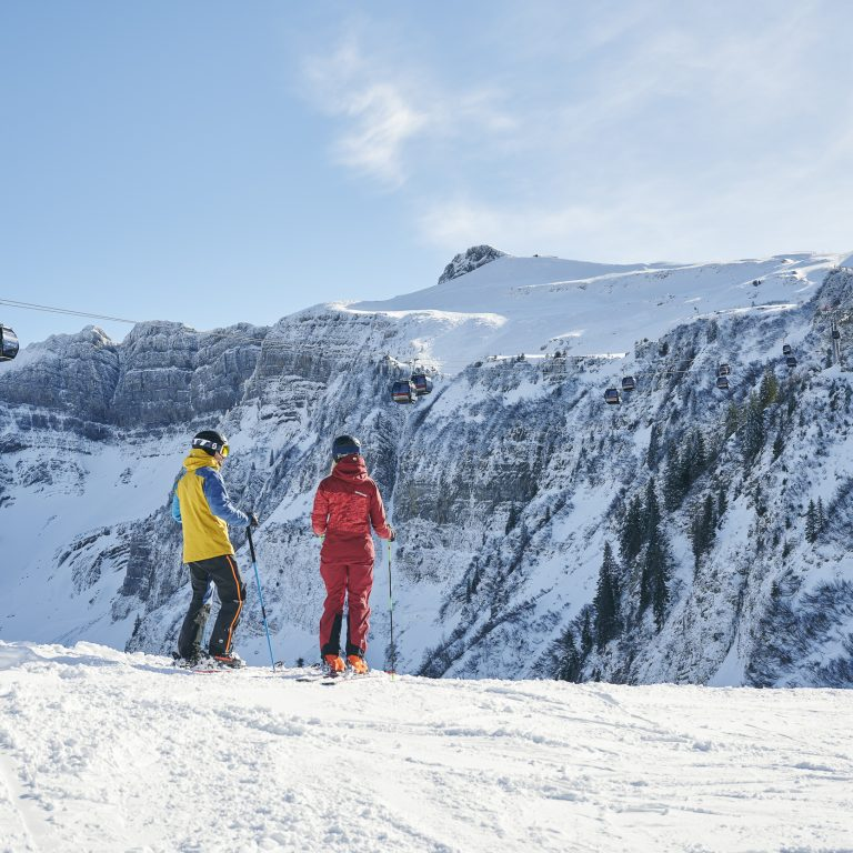 Skigebiet Damüls-Mellau (c) Alex Kaiser - Bregenzerwald Tourismus