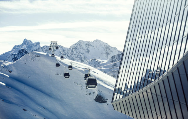 Flexenbahn in Lech Zürs am Arlberg © Kirstin Toedtling / Lech Zürs Tourismus GmbH