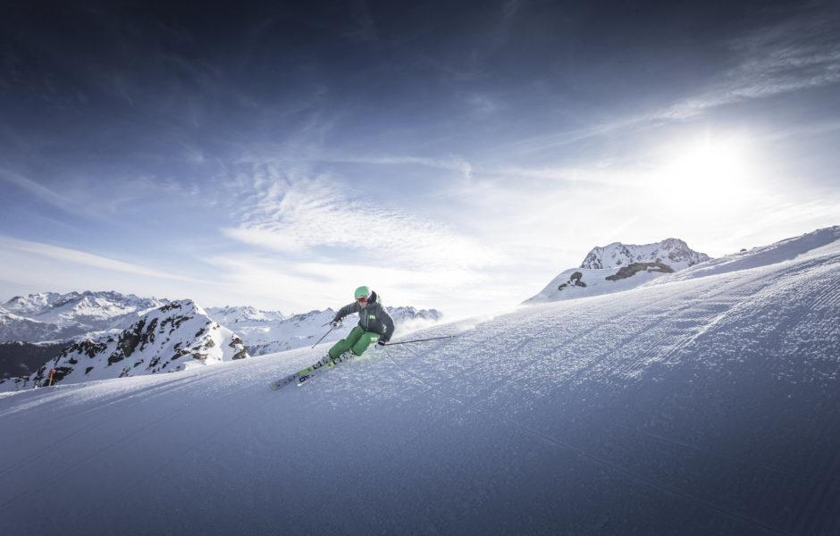 HochjochTotale im Skigebiet Silvretta Montafon © Andi Frank / Silvretta Montafon