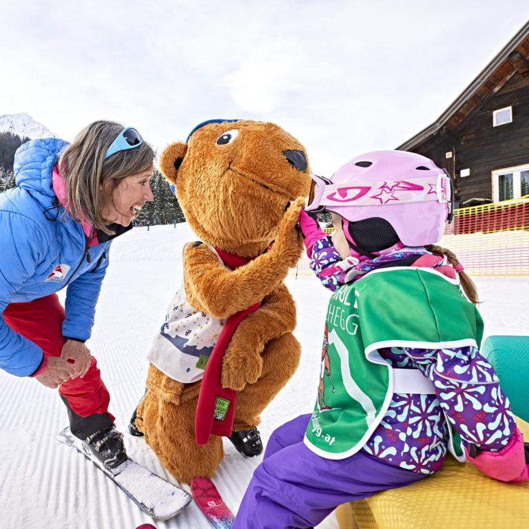 Maria Gobald Skischule Hirschegg © Gert Krautbauer / Vorarlberg Tourismus