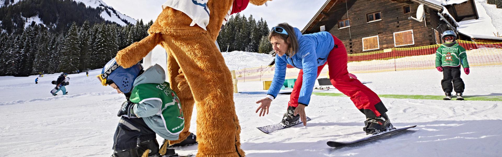 Skischule Hirschegg © Gert Krautbauer / Vorarlberg Tourismus