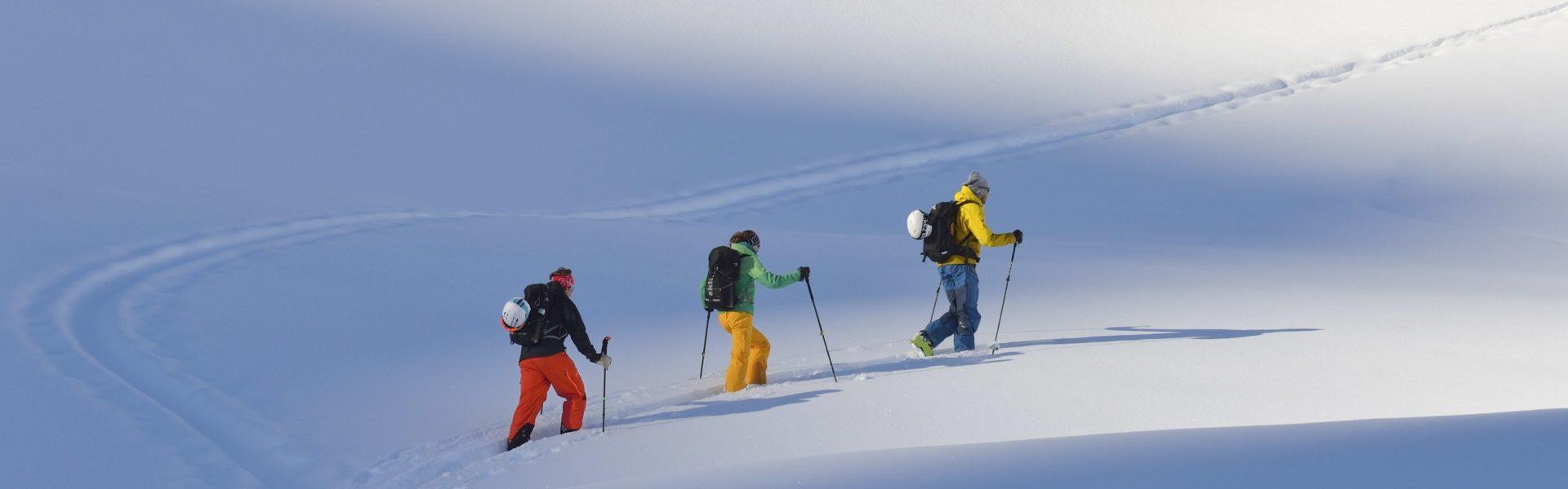 Skitouren Gargellen, Bergführer (c) Josef Mallaun / Vorarlberg Tourismus