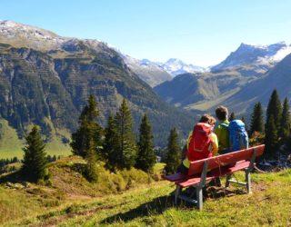 Tannberg Lech, Herbst, Wandern am Arlberg (c) Lech Zürs Tourismus