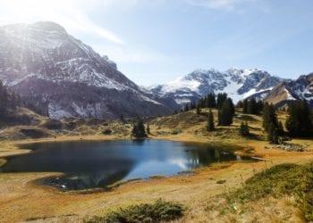 Körbersee im Herbst, Arlberg (c) Bernadette Otter / Lech Zürs Tourismus
