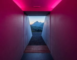 Skyspace Lech, James Turrell, Licht Stimmung, cultural scene (c) Florian Holzherr
