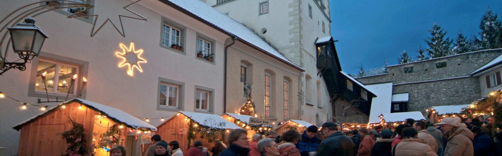 Weihnachtsmarkt Bregenz Oberstadt, Martinsturm (c) Roman Horner, Vorarlberg Tourismus GmbH