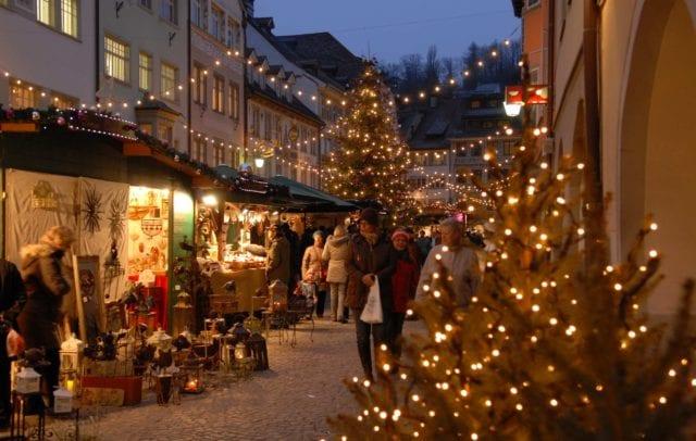 Weihnachtsmarkt Feldkirch (c)Stadtkultur und Kommunikation Feldkirch GmbH