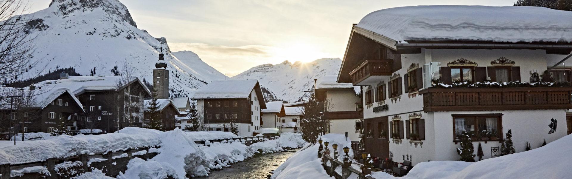 Lech am Arlberg © Gert Krautbauer / Vorarlberg Tourismus