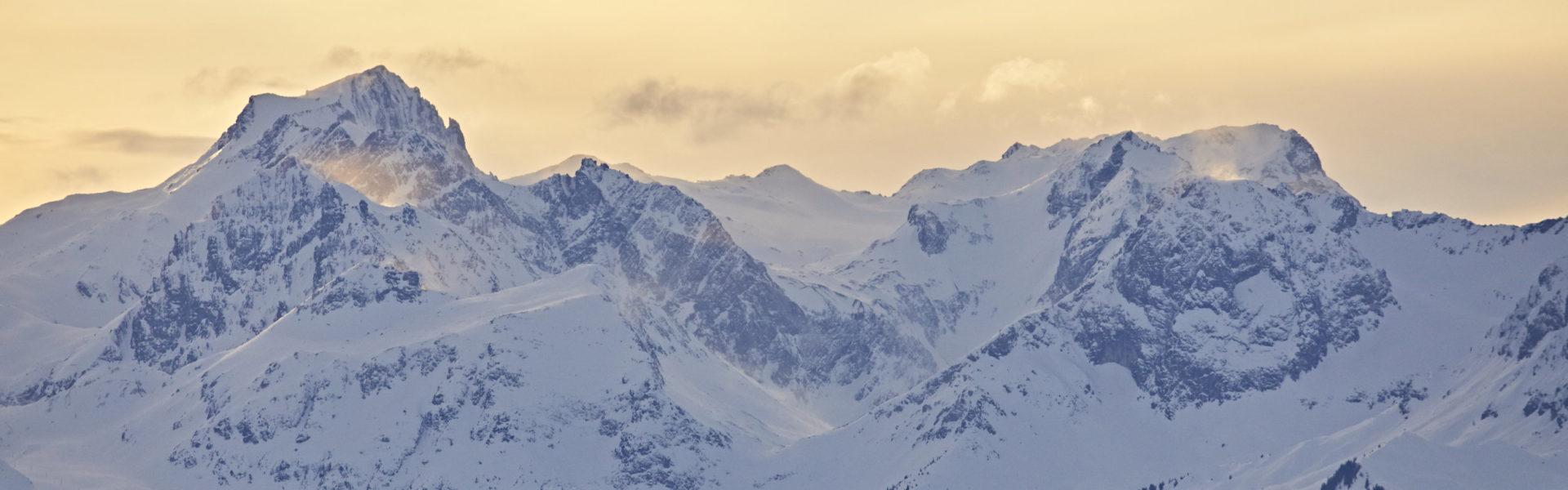 Skigebiet Arlberg © Gert Krautbauer / Vorarlberg Tourismus
