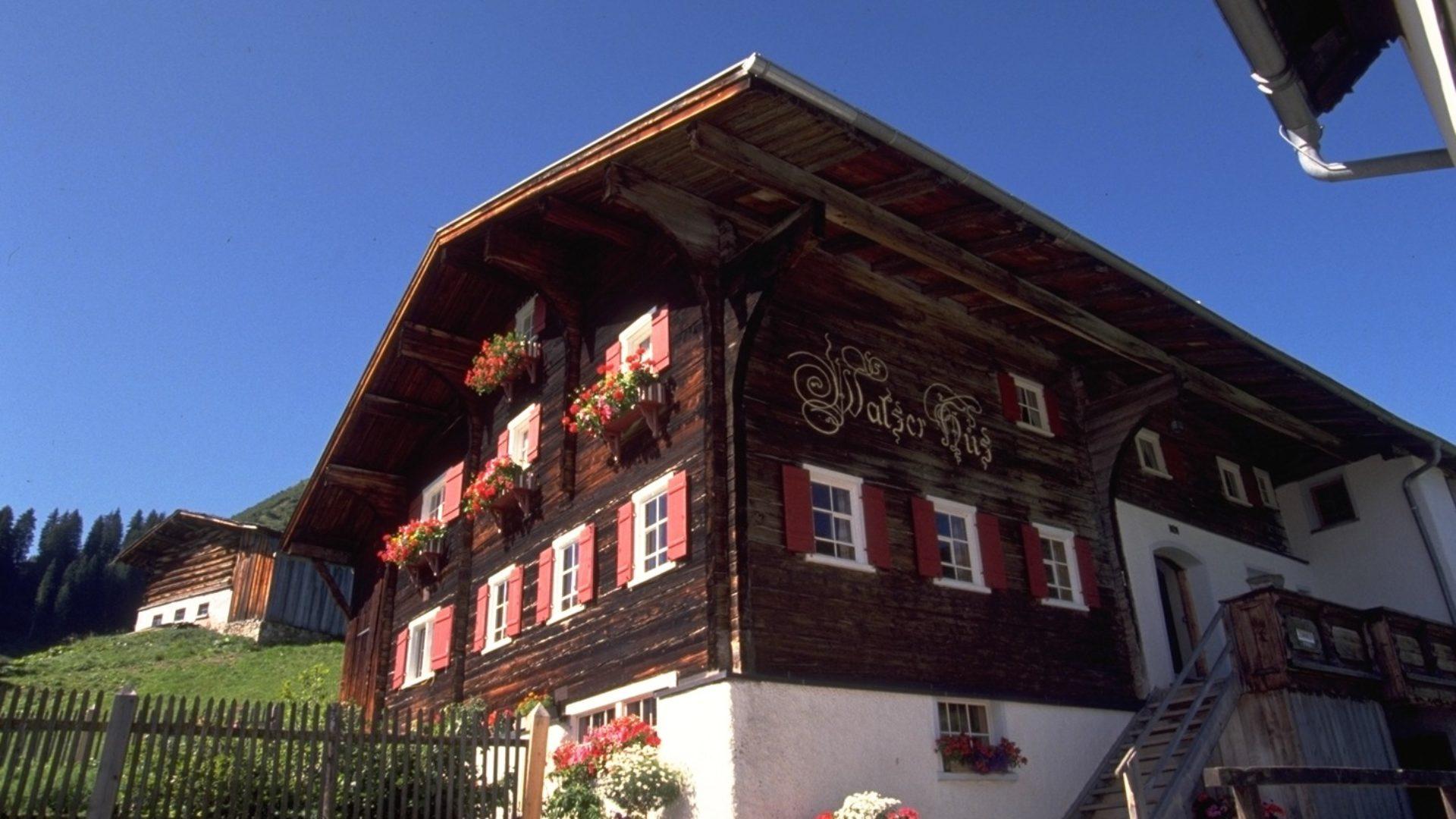 Walserhus in Warth