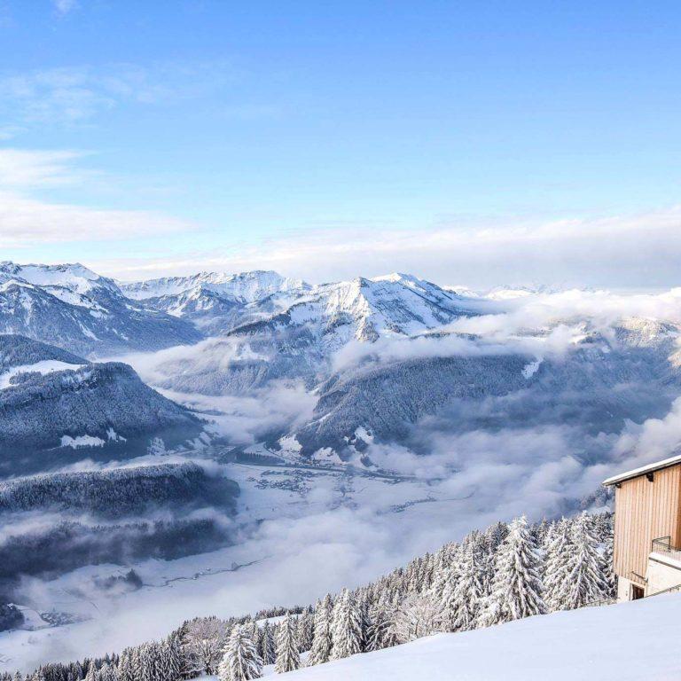 Skigebiet Niedere, Bezau Baumgarten, 16. Jänner 2019 (c)