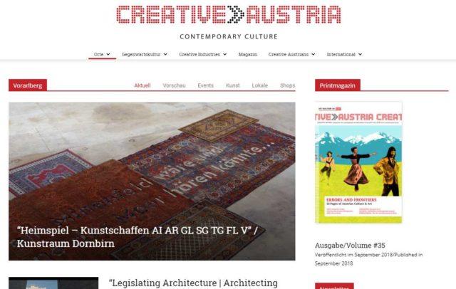 Creative Austria Gegenwartskultur Kreativszene (c) Creative Austria