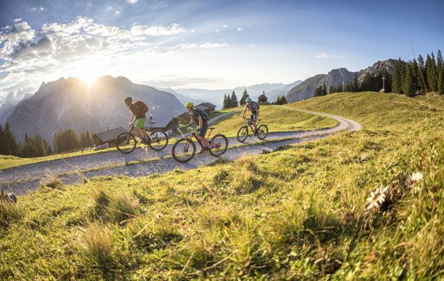 E-Bike-Tour rund um den Itonskopf © Andreas Meyer / WOM Medien