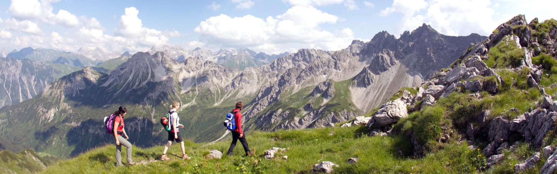 Gipfeltour Kleinwalsertal © Frank Drechsel / Kleinwalsertal Tourismus eGen