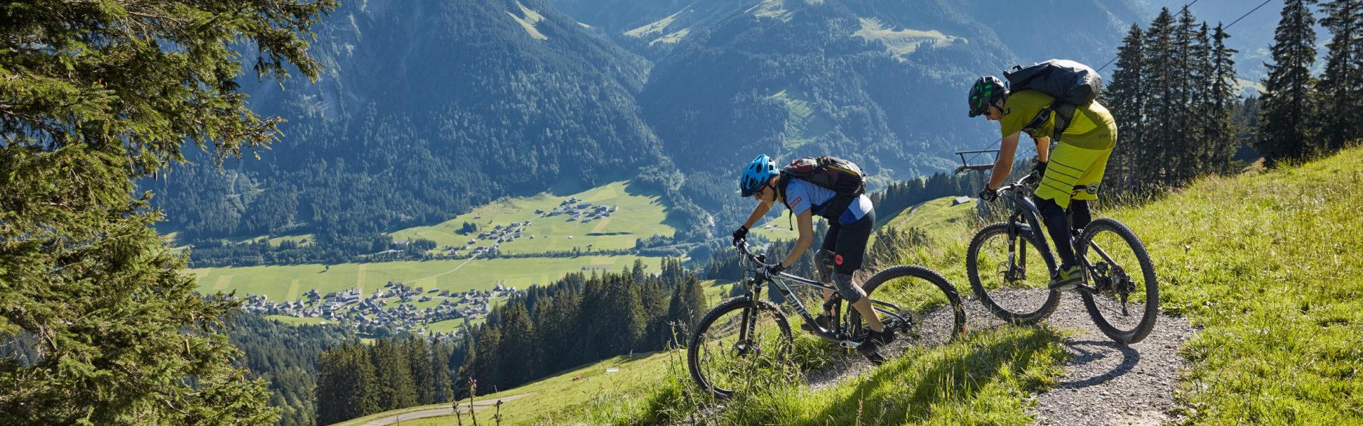 Mountainbike Au-Schoppernau © Adolf Bereuter / Bregenzerwald Tourismus