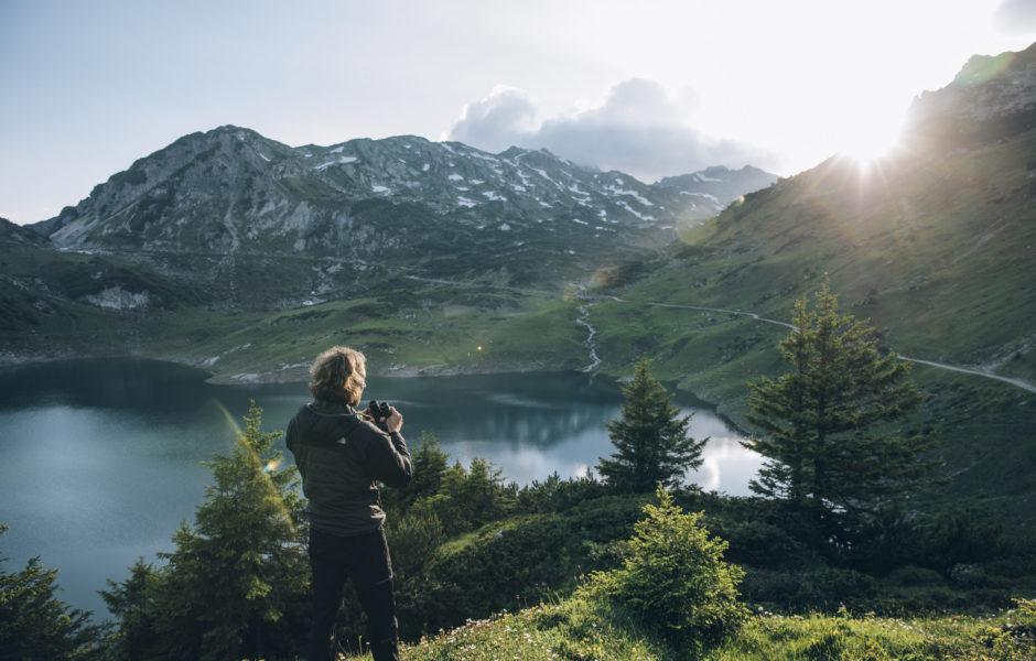 Wandern in Lech Zürs am Arlberg ©Daniel Zangerl / Lech Zürs Tourismus GmbH