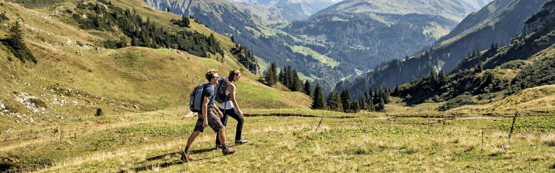 Wandern Schadonagebiet Biberacherhütte © Johannes Fink / Bregenzerwald Tourismus