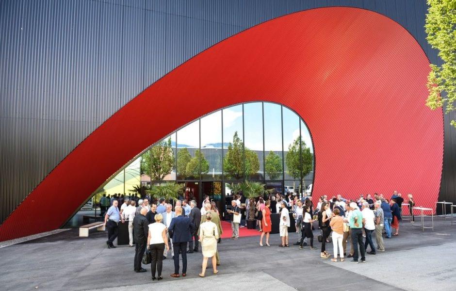 Messehallen Dornbirn, Marte.Marte Architekten, (c) Udo Mittelberger