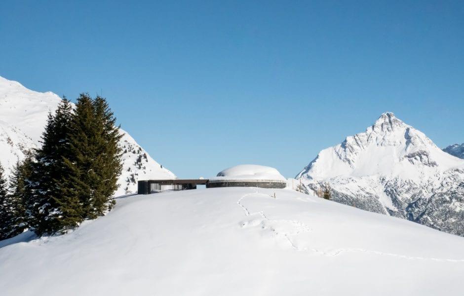 Skyspace Lech, Winter (c) Bernadette Otter / Lech Zürs am Arlberg
