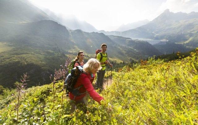 Hiking Wiegensee, Verbella-Alpe, © Stefan Kothner, Montafon Tourismus