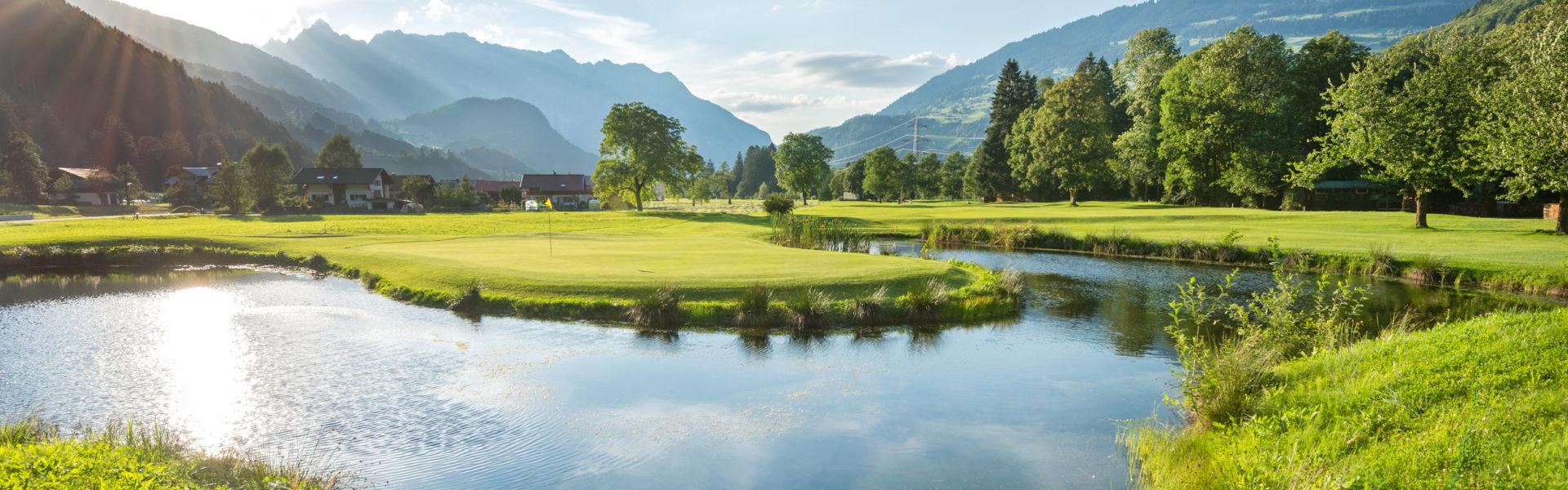 Golfclub Montafon © Matthias Rhomberg / Vorarlberg Tourismus
