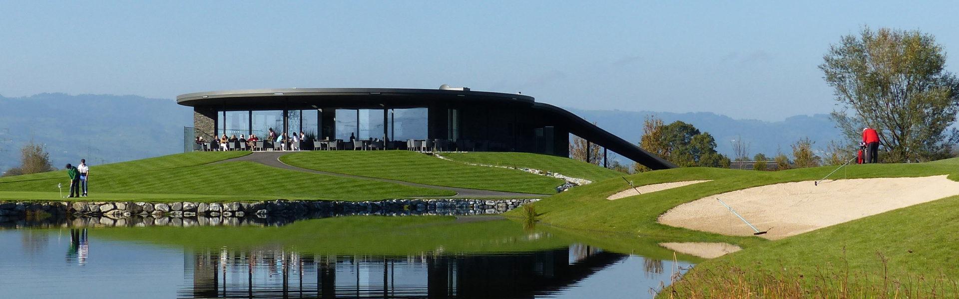 Golfpark Montfort Rankweil Clubhaus © Golfpark Montfort