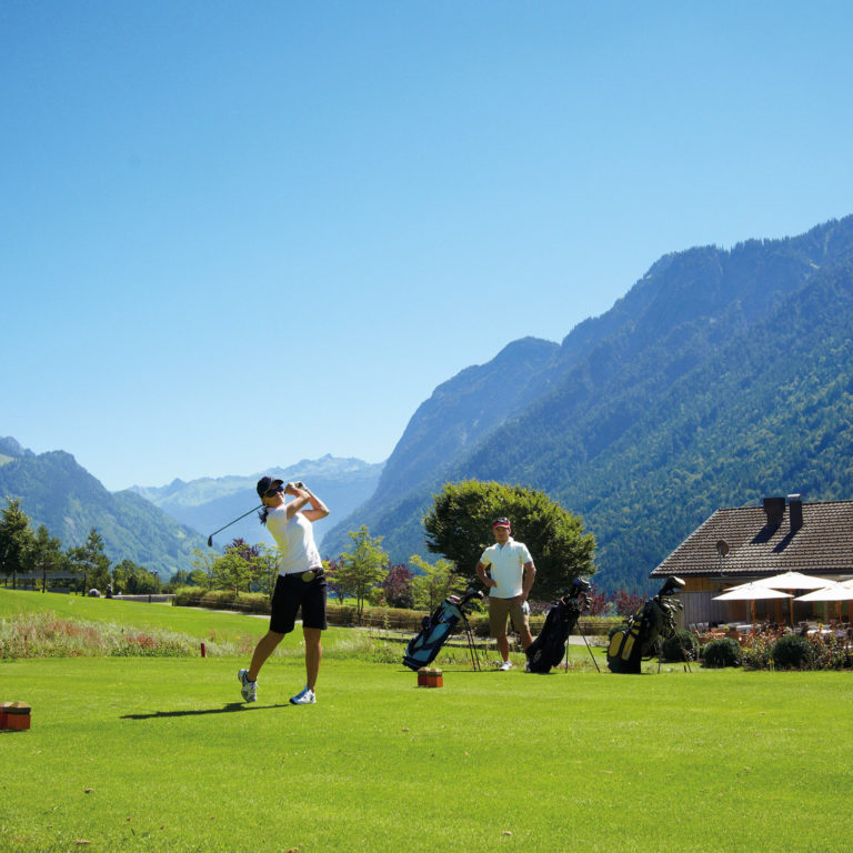 Golfplatz Bludenz-Braz © Bildarchiv Alpenregion Bludenz