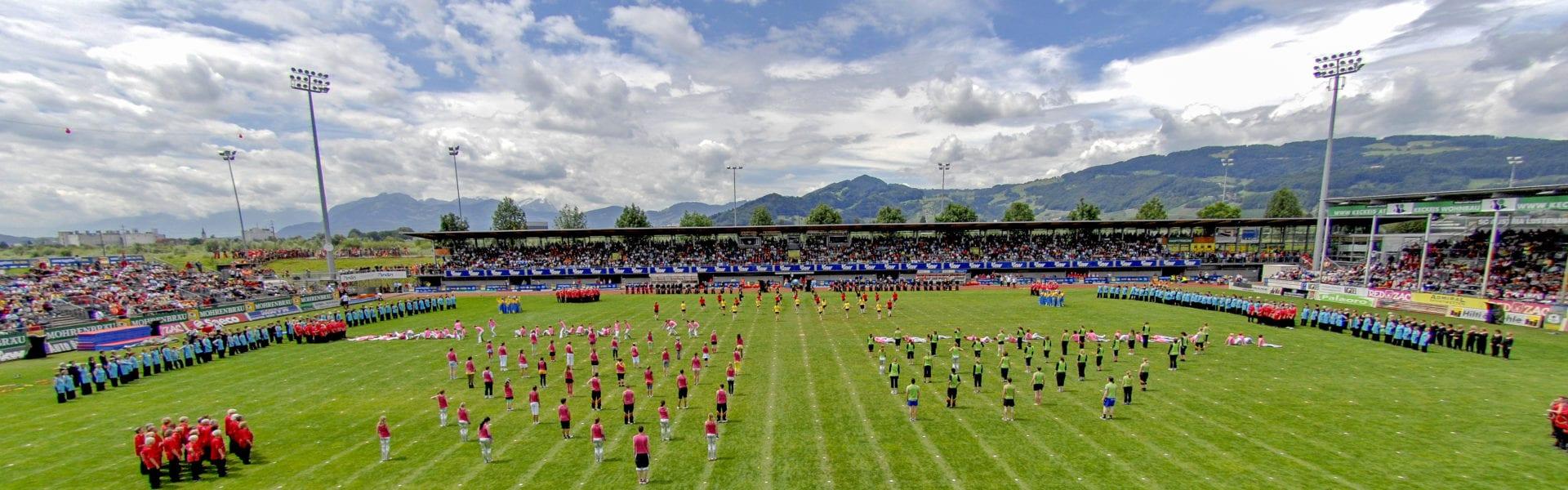 Großgruppen Performance (c) Weltgymnaestrada 2007